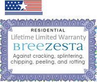 Breezesta Patio Furniture Warranty