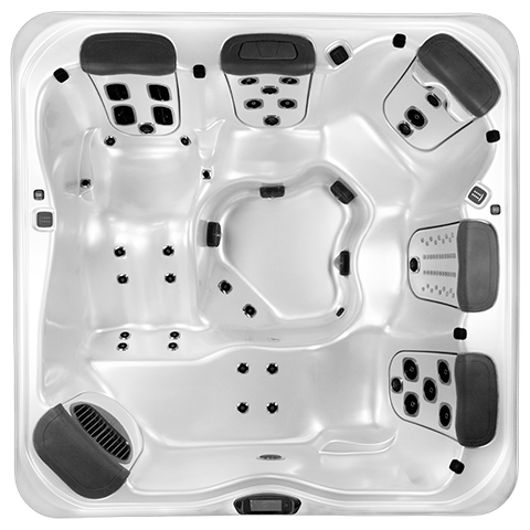 Bullfrog Spas A8D Top View