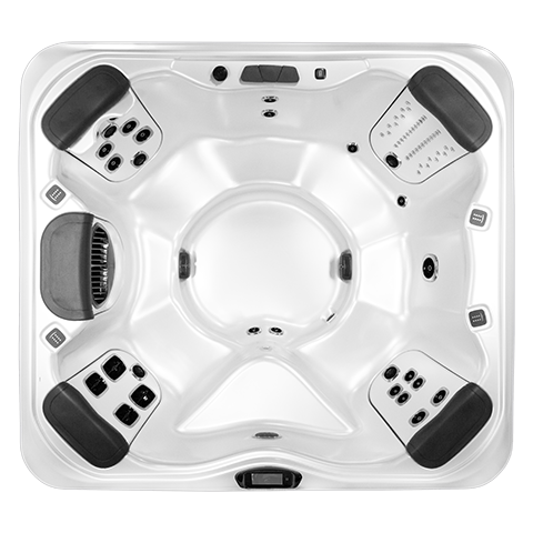 Bullfrog Spas A6 Top View
