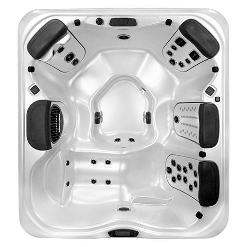 Bullfrog Spas A6L Top View