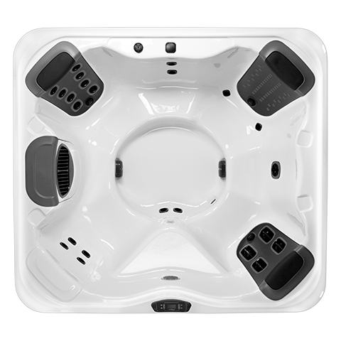 Bullfrog Spas R6 Top View