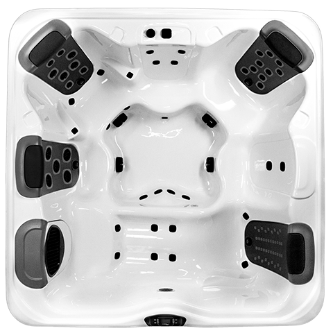 Bullfrog Spas R8L Top View