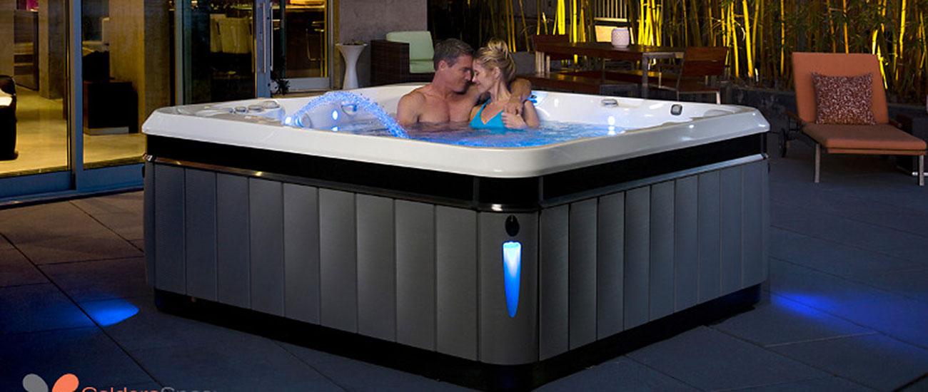 Caldera Hot Tubs Spas Night Romance