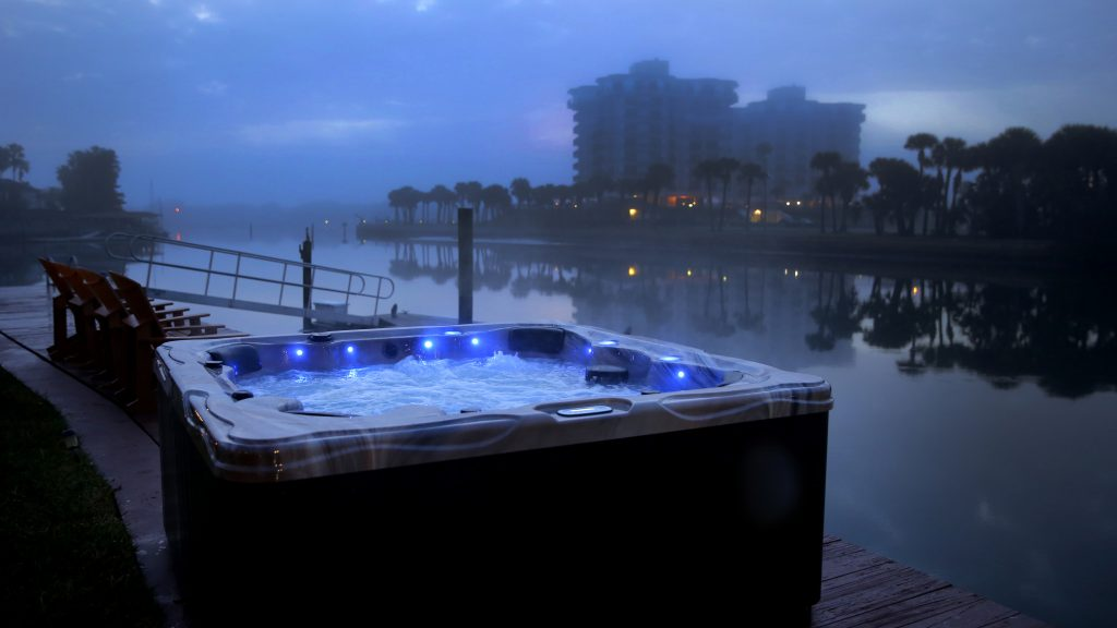 Signature Spas Dramatic Lighting