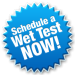 Schedule A Wet Test Now