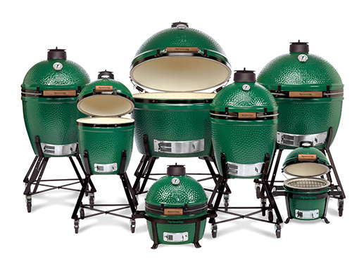 Big Green Egg Family Gutter Open Regulators Grills
