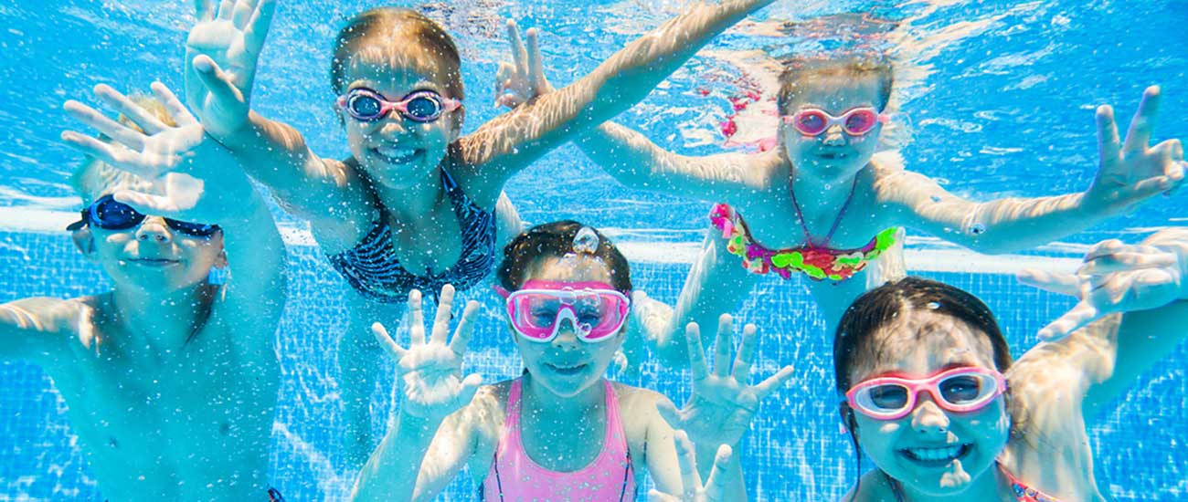 Swimming Pool Kids Party