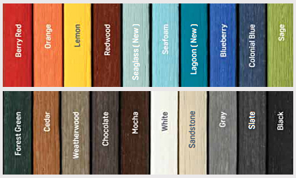 Breezesta Outdoor Furniture Colors 2020