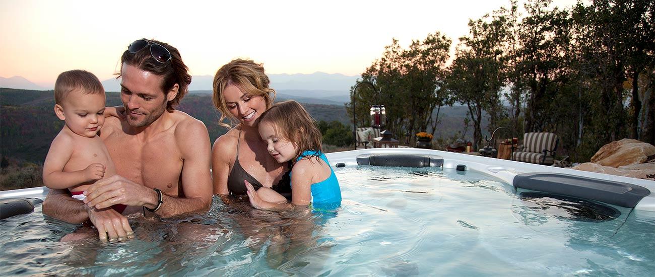 Family Bullfrog Hot Tub Financing