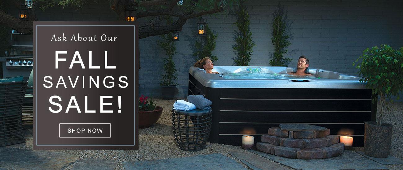 Hot Tub Fall Savings Sale Main Home