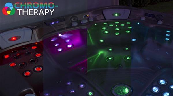 Color Therapy Mood Spa Lighting